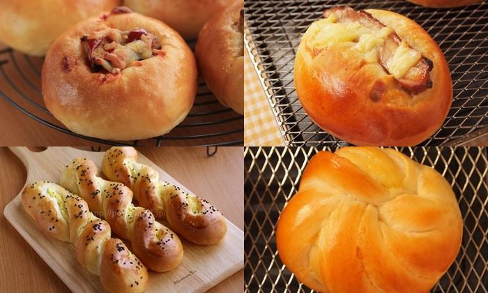 30分でいろいろパンミックスで作る様々なパン