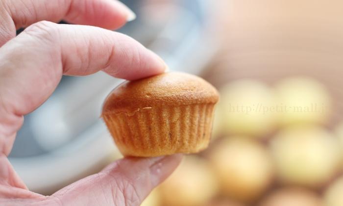 ビタントニオ ワッフル&ホットサンドベーカー カップケーキの大きさ
