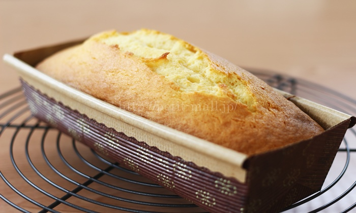 TOMIZ(富澤商店)ミックス粉で作るパウンドケーキ