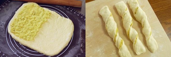 さつまいもスティックパンの作り方
