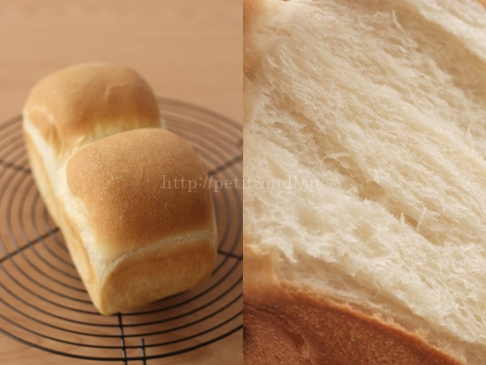 30分で作れるパン 食パン成功