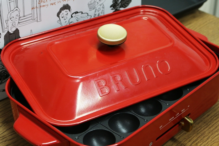 BURUNOコンパクトホットプレート おしゃれな外観