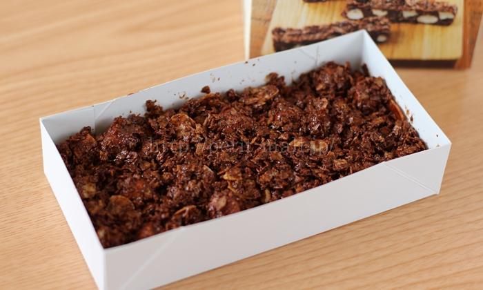 無印良品バレンタイン手作りキット マシュマロチョコバーの作り方5