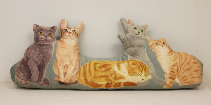 にゃんともぜいたくな 猫まみれハーレムクッションの会(ヨーロッパ猫)