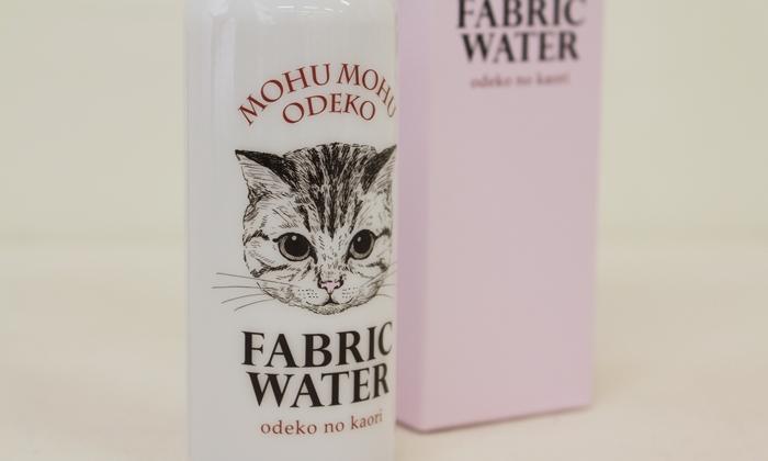 フェリシモ猫部 モフモフおでこの香り ファブリックウォーターの会