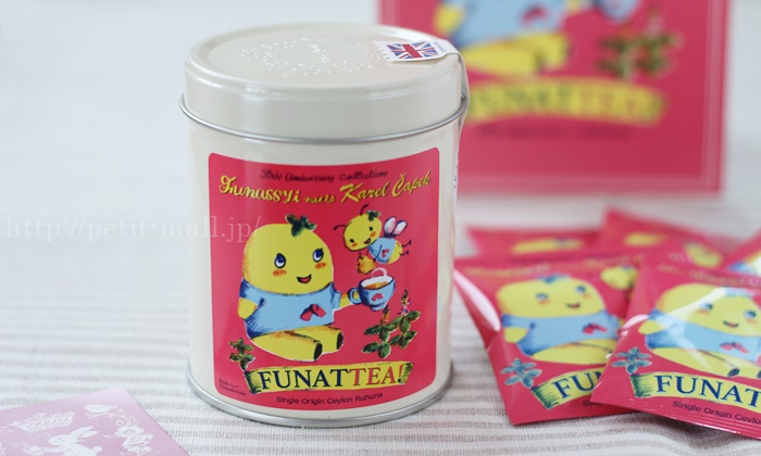 ふなっしー × カレルチャペック紅茶店のコラボ紅茶 FUNATTEA
