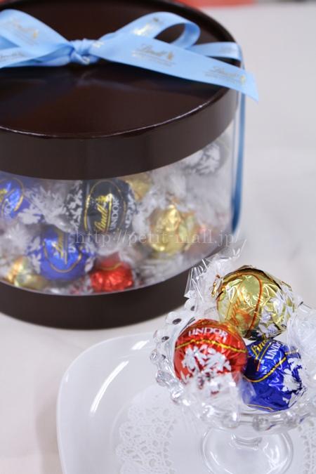 リンツ リンドールチョコレート ギフトボックス