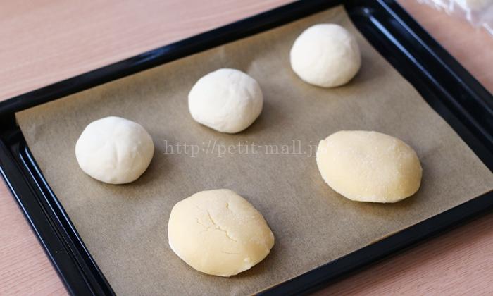 冷凍パン生地で作るパンの焼き方
