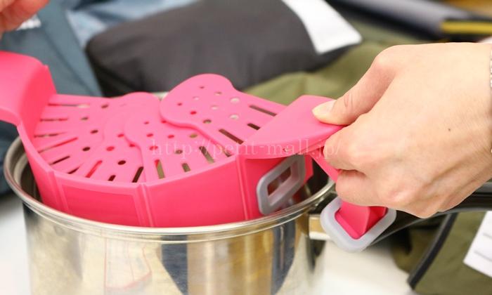 フェリシモ ざるのいらない水切りクリップ 使い方