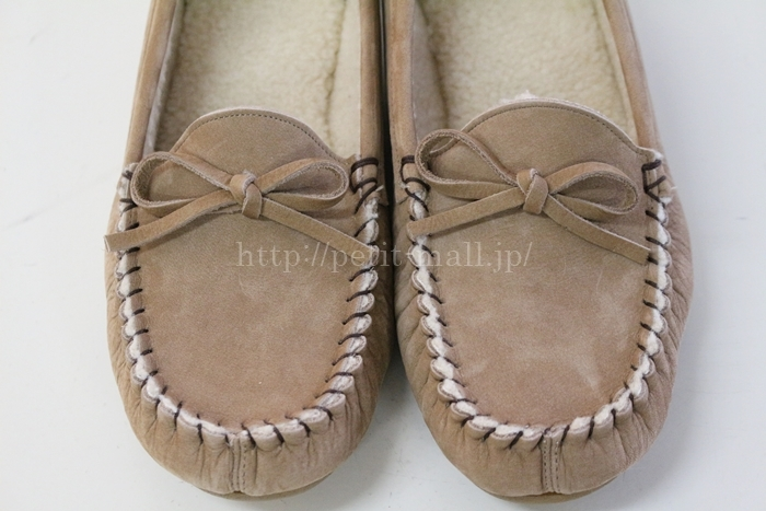 べネビスの本革だけど洗える靴 日本製洗える本革モカシューズ