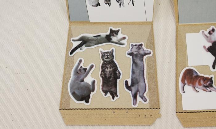 フェリシモ猫部 ネコふせんのパッケージ