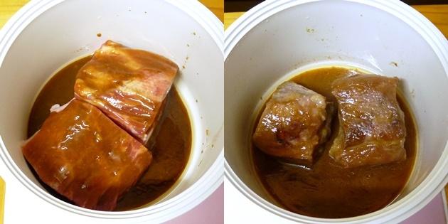 クック膳 みそ煮豚の作り方