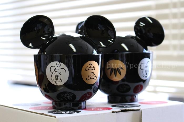ベルメゾン ディズニー ミッキー・シルエットの汁椀