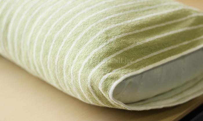 今治タオルのリバーシブルのびのび枕カバー