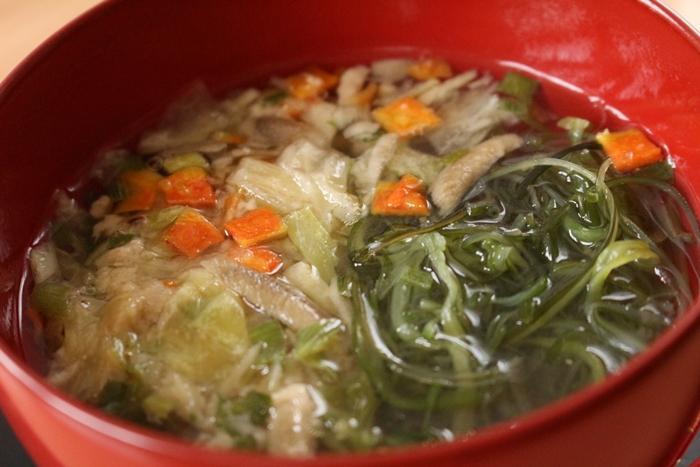 ベルメゾン マンスリークラブ 食べる順番スープの量