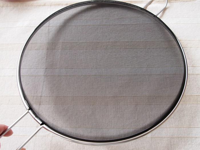 有元葉子 鉄の揚げ鍋(ラバーゼ)油はね防止ネット