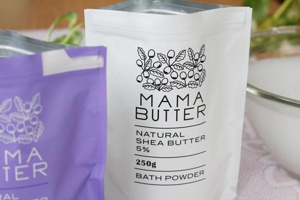 ママバター バスパウダー(入浴剤)無香料