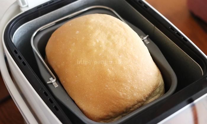 エムケーホームベーカリーHBK-152 食パン焼き上がり