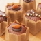 電子レンジで作るショコラカップケーキ 無印良品