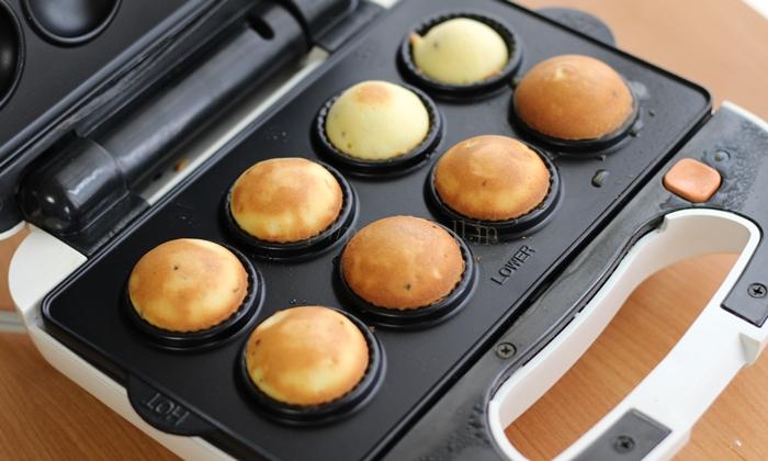 ビタントニオ ワッフル&ホットサンドベーカー カップケーキの作り方