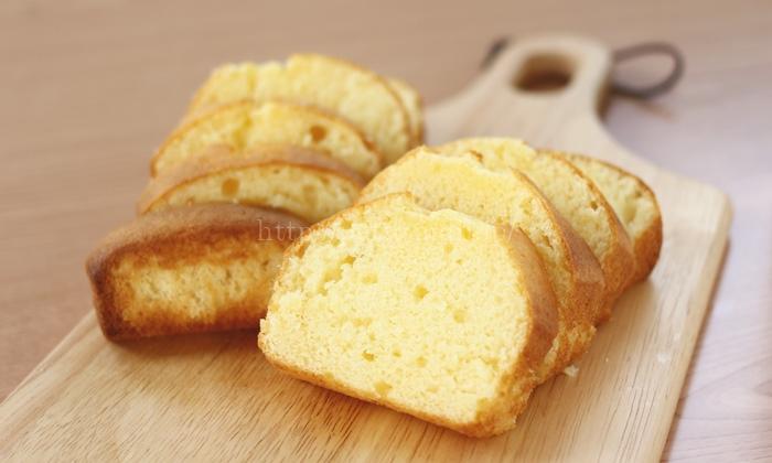 北海道産小麦粉「きたほなみ」を使ったミックス粉で作るパウンドケーキ