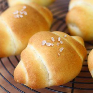 塩パンのレシピ