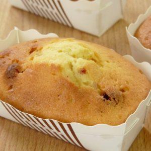 30分で焼き菓子 いちごパウンドケーキ