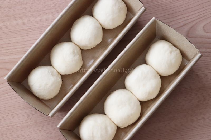 4連ちぎりパン 作り方