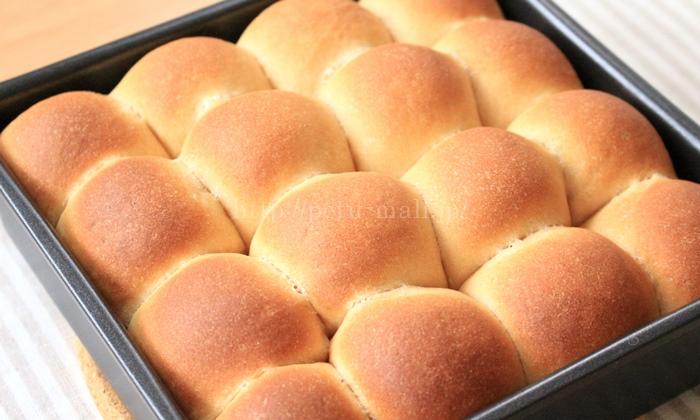 きなこのちぎりパン作り方 完成