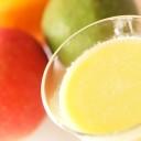 アボカドとリンゴのジュース