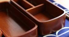 会津塗 木製くりぬきお弁当箱