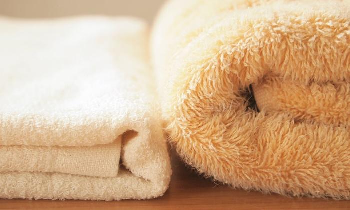 裏ガーゼタオルと普通のタオルの厚さ比べ