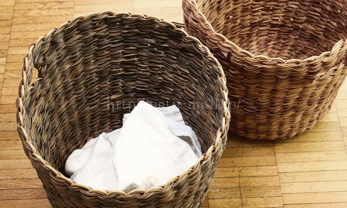 フェリシモ 洗えるバスケット
