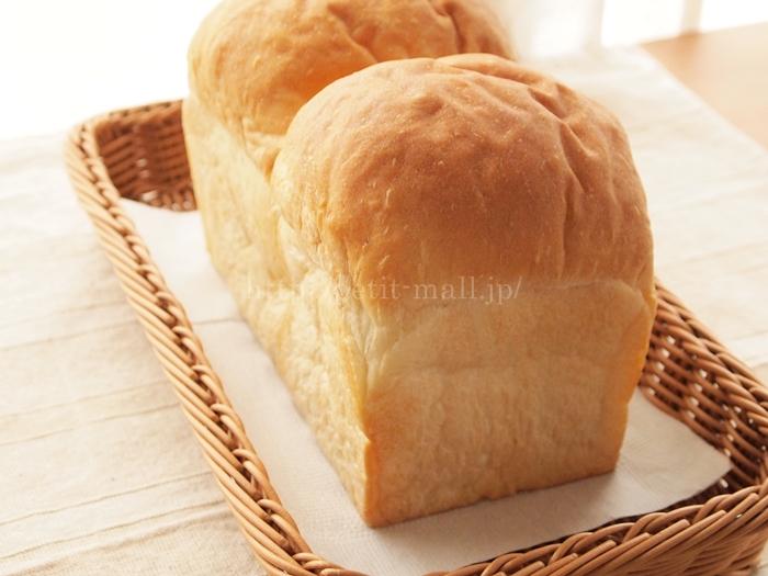 洗えるバスケット 食パン一斤がちょうど乗ります