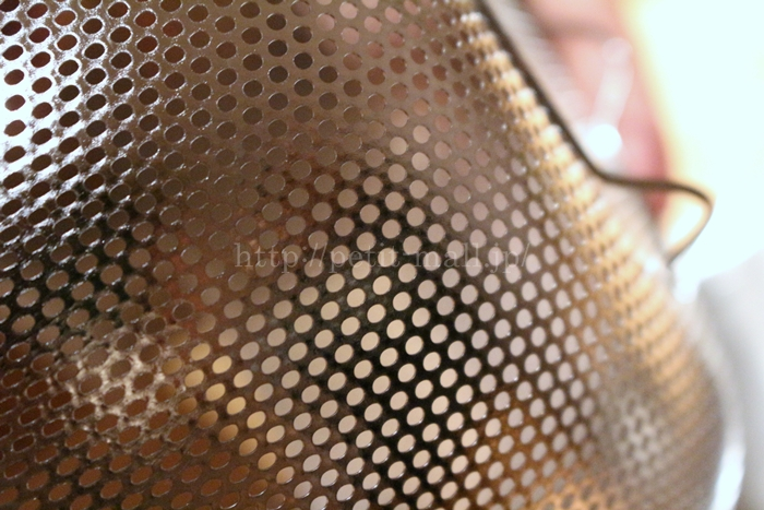 ベルメゾンデイズ すっきり収納できるステンレスボウル&ザルセット パンチングタイプのザル