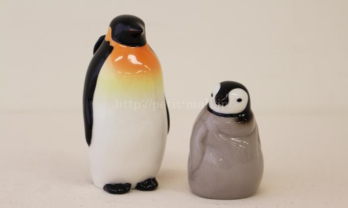 フェリシモ ペンギン親子の調味料入れ