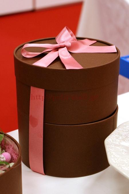 母の日 プリザーブドセット「シークレットボックス グレゴリー・コレ バラ咲き桃のアントルメ」2段ボックス仕立て