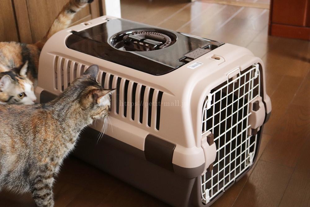 猫用キャリーケース体重8キロまで対応