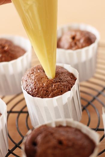 無印良品バレンタイン手作りキット ショコラシフォンケーキ作り方10