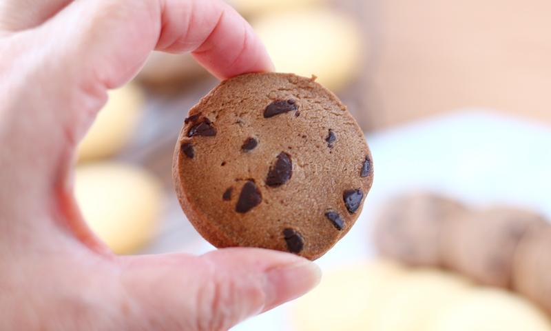 オイシックス 冷凍生地で作るクッキーの大きさ