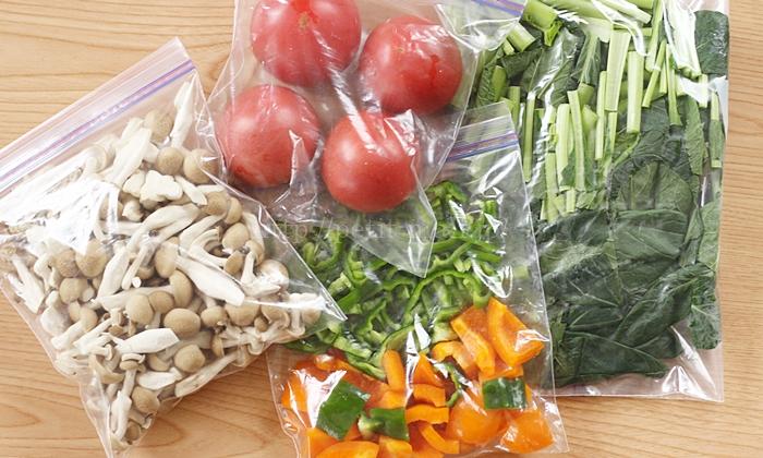 野菜の冷凍保存方法