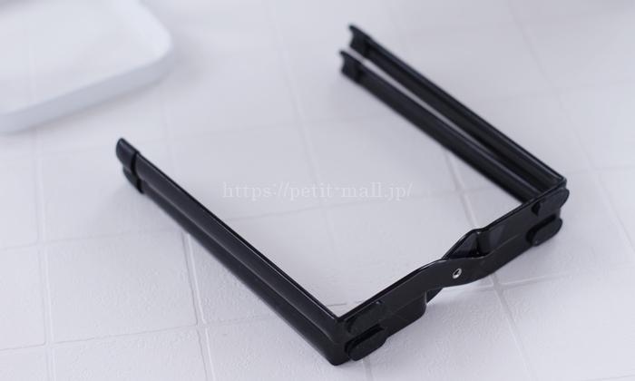 ポリ袋エコホルダー 蓋なしは折り畳めます