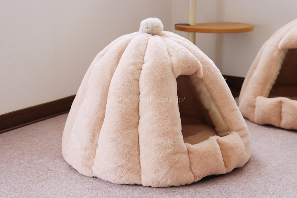 ペットベッド テント型
