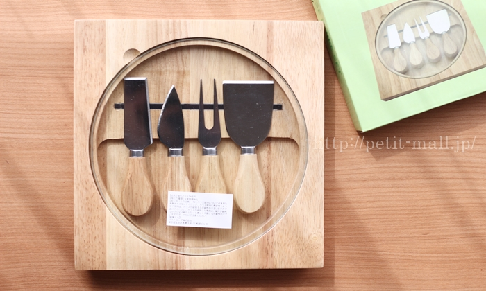 イマジンテーブル ウッディチーズナイフ 4本セット
