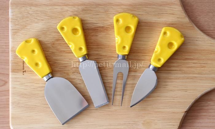 チーズ柄 チーズナイフセット