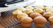 ビタントニオワッフル&ホットサンドベーカーで焼いたカップケーキ