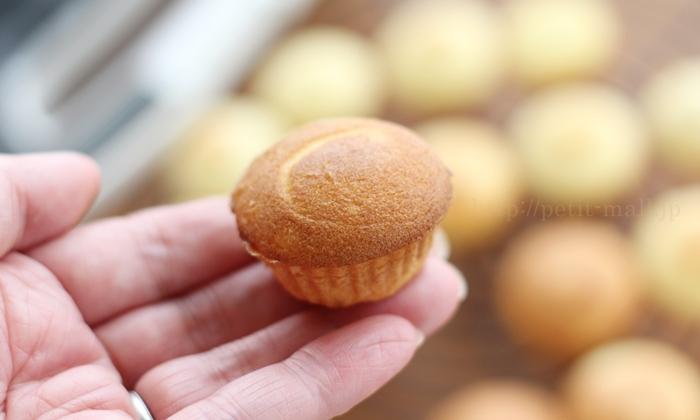 ビタントニオワッフル&ホットサンドベーカーで作ったカップケーキ