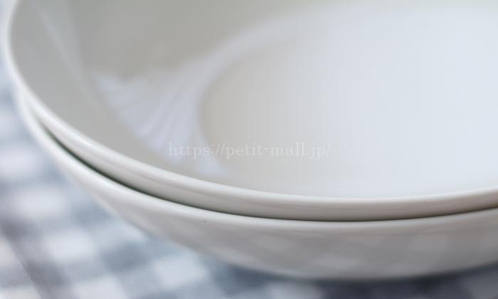 無印良品 楕円皿 オーバルディッシュの厚み