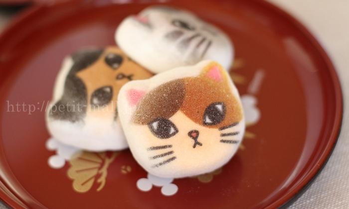 和風ニャシュマロ(マシュマロ) 猫ほうずい
