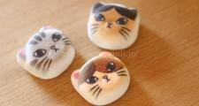和風ニャシュマロ(マシュマロ)猫ほうずい